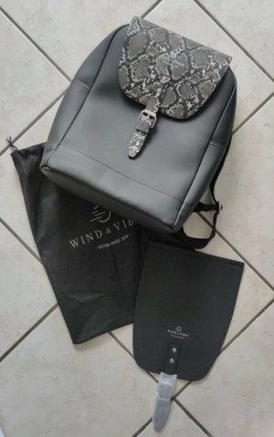 Wind & Vibes Sac à dos pour ordinateur portable noir