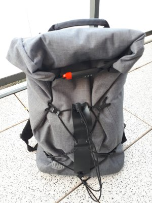 Laptop Backpack grey-dark grey