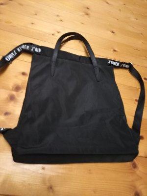 Carry Bag black mixture fibre