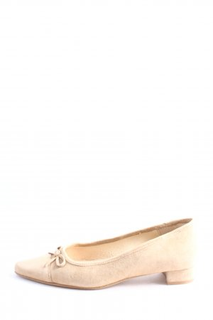 Rudy's Spitz-Pumps creme Casual-Look