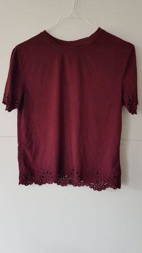 Rue21 T-shirt in wildleder Optik