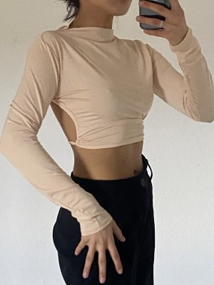 Boutique Cropped top room-nude