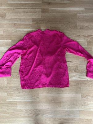 Gina Tricot Glanzende blouse roze