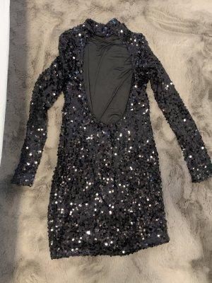 Rückenfreie Paillette Kleid H&M Gr S neu!