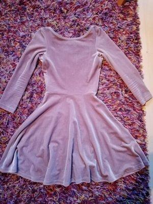 American Apparel Robe à manches longues vieux rose-rosé