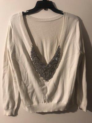 Rückenfreier Pullover mit Steinen von Ba&Sh
