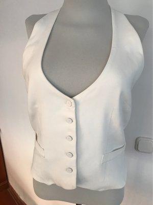 Blusa sin espalda blanco puro