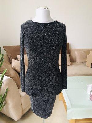 Rückenfreies Glitzer Kleid