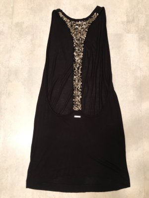 Miss Sixty Backless Top black-bronze-colored