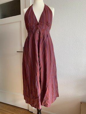 Pull & Bear Halter Dress multicolored