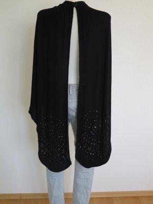 Asos Tunique-blouse noir viscose