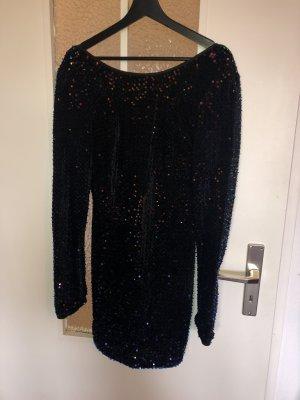 Sequin Dress dark blue