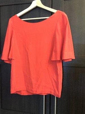 Promod Blusa sin espalda rojo claro