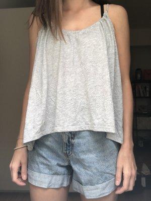 Bik Bok Backless Top light grey-grey polyester