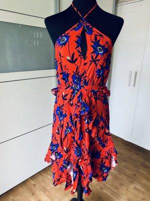 H&M Off the shoulder jurk veelkleurig