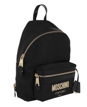 Moschino Sac à dos pour ordinateur portable noir