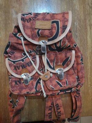 Daniel Ray School Backpack brown-cognac-coloured