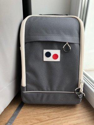 Sac à dos pour ordinateur portable gris matériaux recyclés