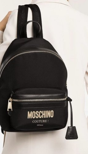 Moschino Gekruiste tas zwart
