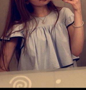Zara Carmen Blouse azure