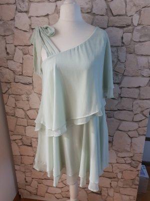 Rüschen-Kleid pastellmint
