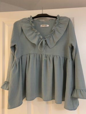 SheIn Ruffled Blouse multicolored