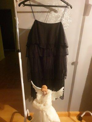 RÜSCHEN spitzen Kleid xs