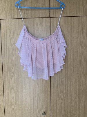 Tally Weijl Frill Top light pink
