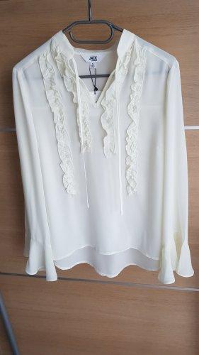 Bb Dakota Ruffled Blouse natural white
