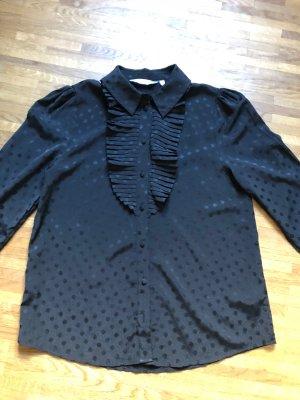& other stories Ruche blouse zwart