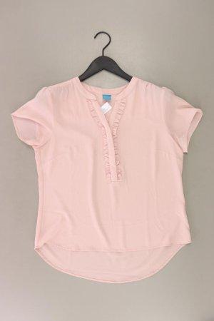 Bluzka z falbankami stary róż-różany-jasny różowy-różowy