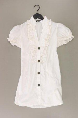 Bluzka z falbankami w kolorze białej wełny