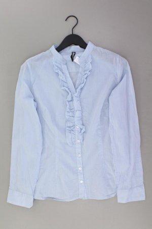 Bluzka z falbankami niebieski-niebieski neonowy-ciemnoniebieski-błękitny