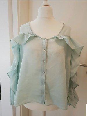 Rüschenbluse Zara mint