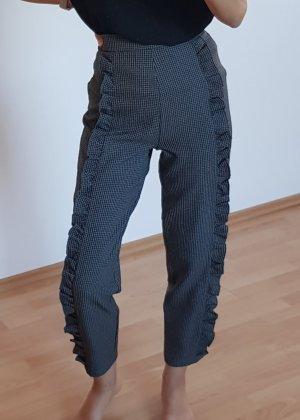 Tailleur pantalone marrone-grigio