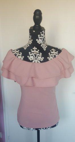 AX Paris Top spalle scoperte rosa antico-rosa pallido