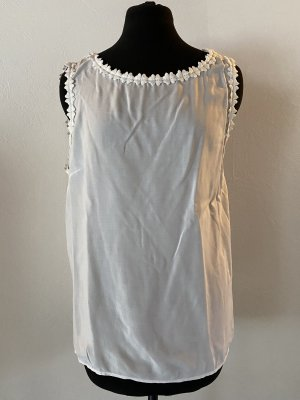 Street One Frill Top white