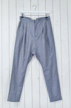 Rützou Pantalone alla turca grigio chiaro-grigio Lana