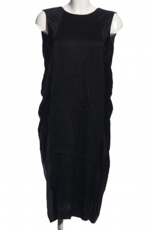 Rützou Vestido mullet negro elegante