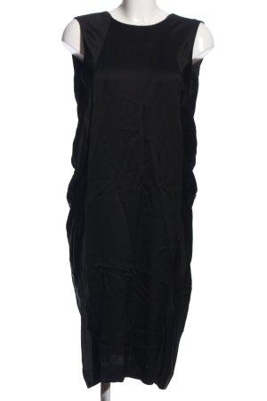 Rützou Vokuhila-Kleid schwarz Elegant