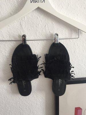 Pavement Sandały plażowe czarny