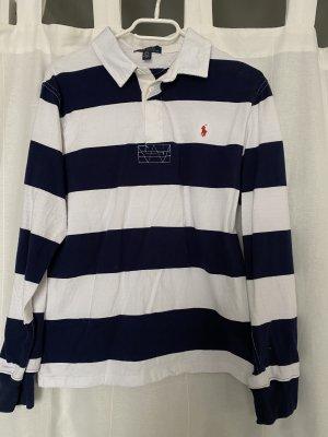 Polo Ralph Lauren Jersey largo blanco-azul