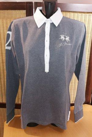 La Martina Camiseta tipo polo gris claro-gris Algodón