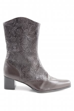 Ruimar Boots western brun style extravagant