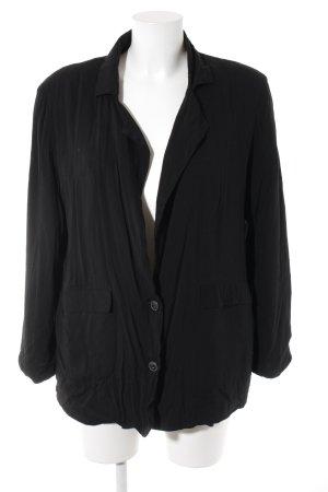 Rules by mary Blazer en jersey noir style décontracté