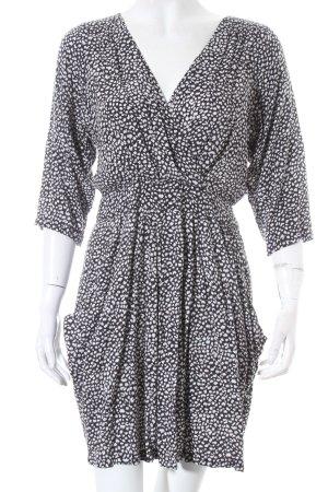 Rules by mary Robe stretch noir-blanc motif abstrait élégant