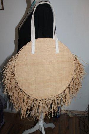 Mango Basket Bag oatmeal-beige