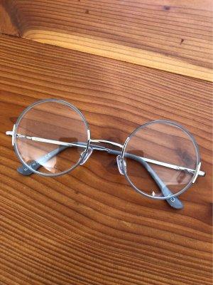 Runde Brille mit Gläsern