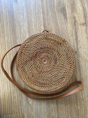 Basket Bag brown-cognac-coloured