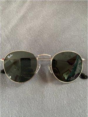 Ray Ban Okrągłe okulary przeciwsłoneczne srebrny